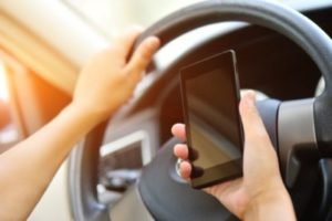 Distracted Driving Car Accident in Lexington, South Carolina