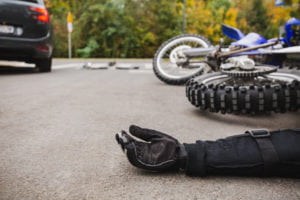What Is the major cause of death in motorcycle accidents