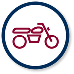 Motorcycle Accidents Icon