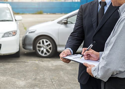 exchanging insurance information after car accident