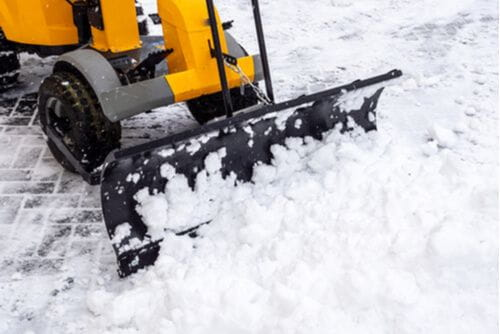 unsafe property condition - snow