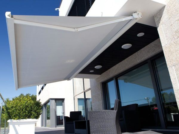 retractable awnings on patio a shade above window fashions