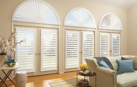 plantation shutters for french doors by a shade above window fashions