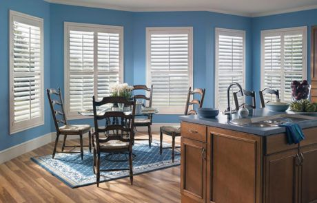 interior plantation shutters by a shade above window fashions