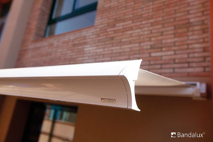 motorized awning a shade above window fashions
