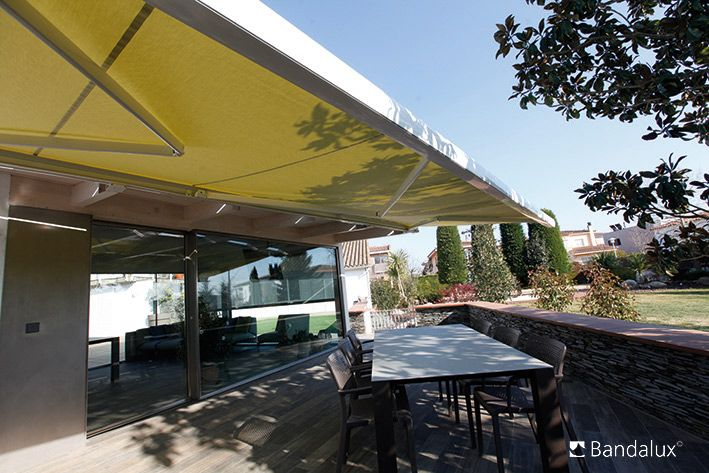motorized patio awnings a shade above window fashions