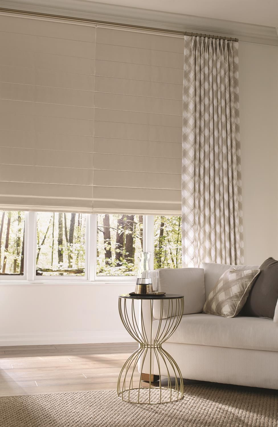 Roman Shades by A Shade Above Window Fashions, showroom davie florida