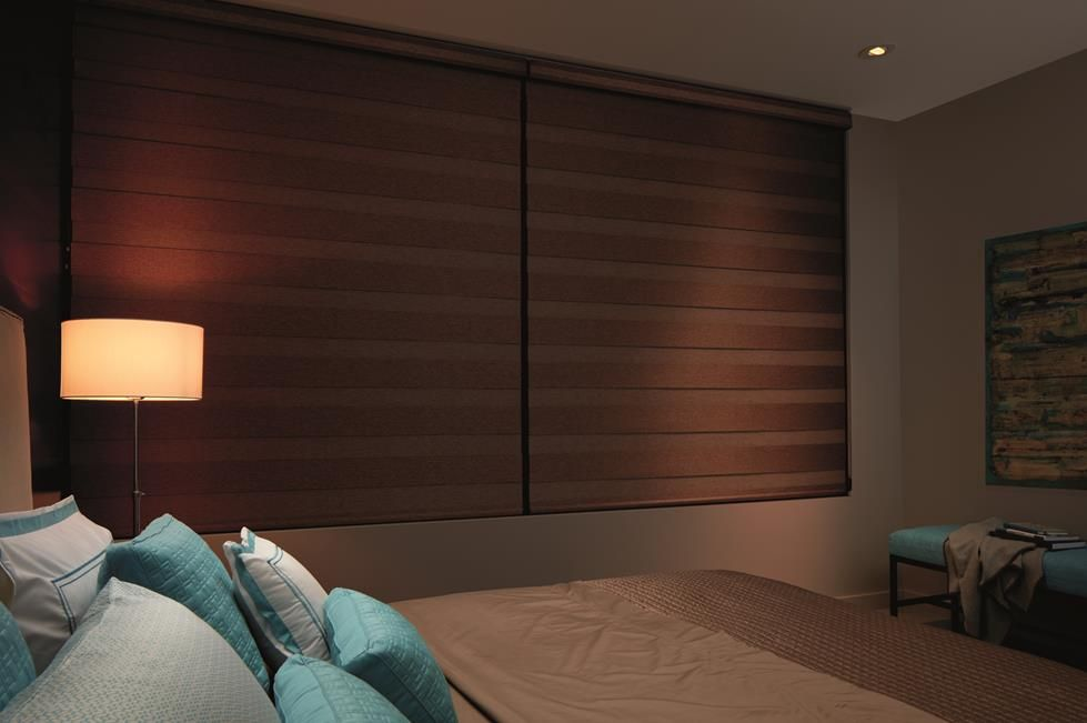 transition zebra shades black out blinds by a shade above window fashions