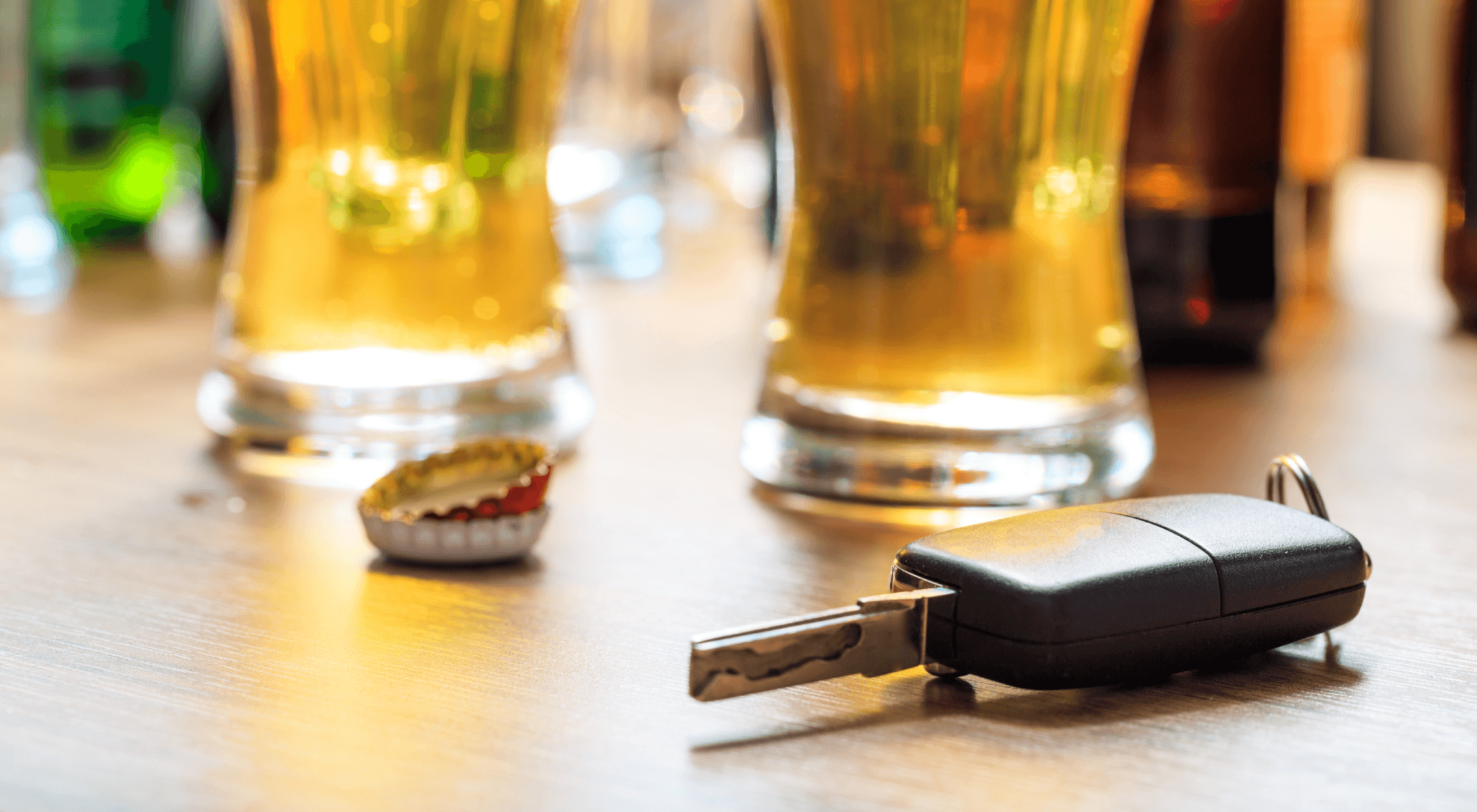 impaired driving alcohol with keys