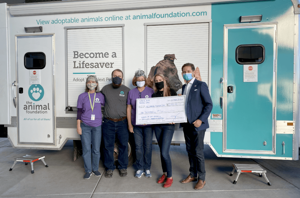 Sam & Ash, LLP are proud sponsors of the Animal Foundation of Las Vegas