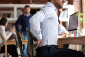 Work Related back injury Compensation