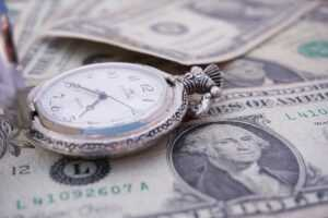 Time and U.S dollars