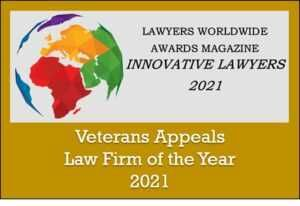 Veterans Appeals Law Firm of the Year Award
