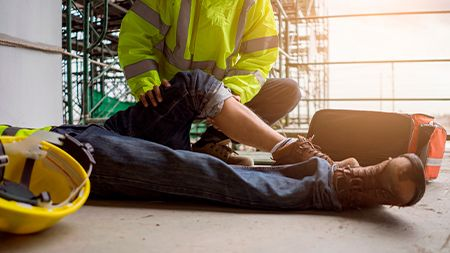 injured worker eligible for workers compensation