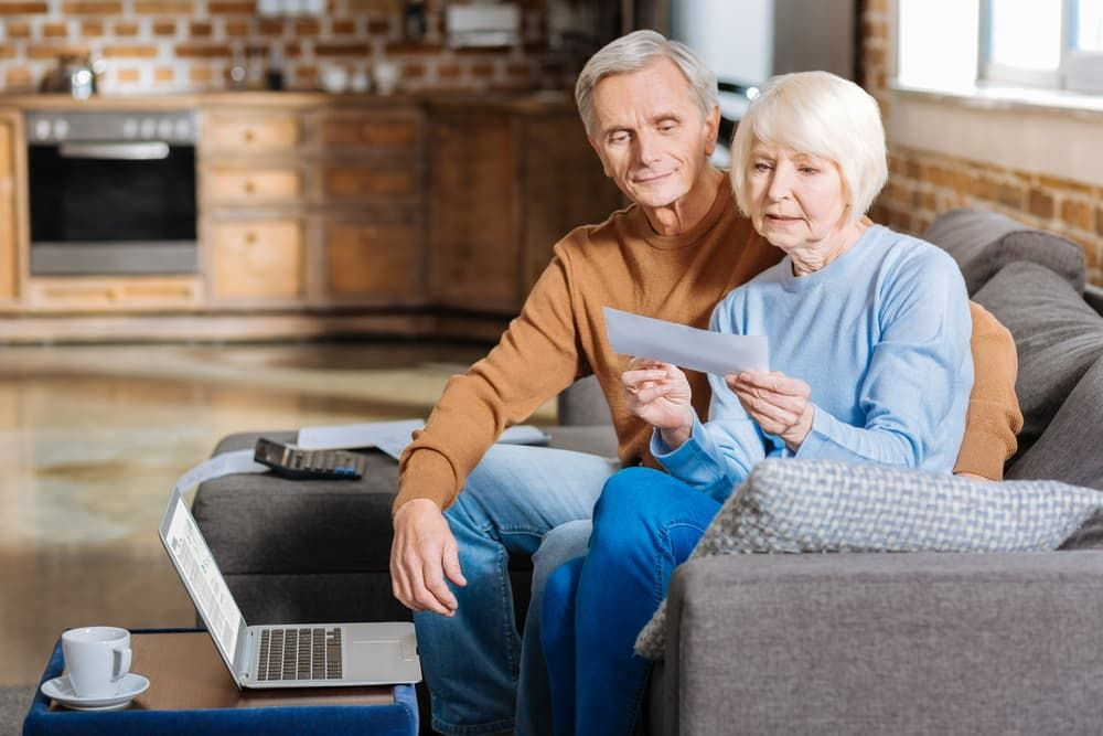 couple reviewing their ssd spousal policy
