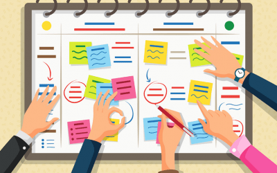 How to manage a peak change period resulting from agile